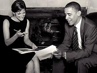 Cindi and Obama